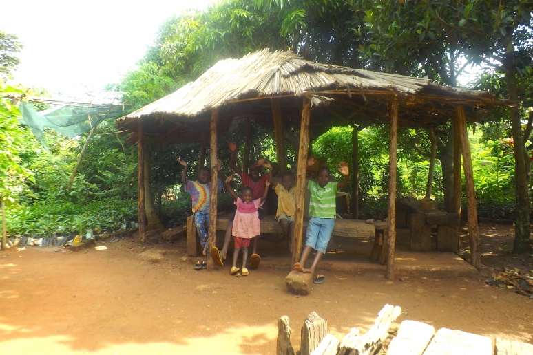 Kids at The Dewe Project