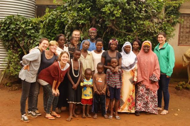 Volunteers Team Picture